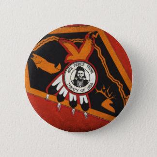 Nez Perce Indians 2 Inch Round Button