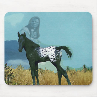 Nez Perce Pony Mousepad