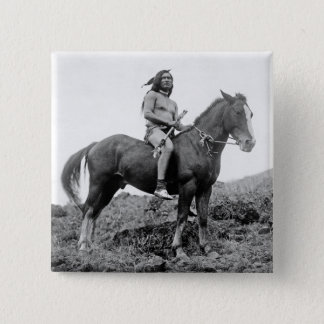 Nez Perce Warrior Button