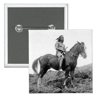Nez Perce Warrior Button