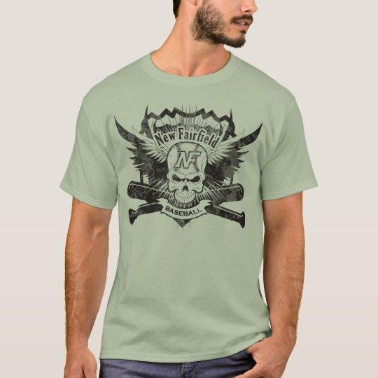 """NFB Vintage Skull (""""Raised"""" on back) T-Shirt"""