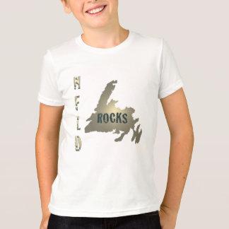 Nfld Rocks Kids Ringer T-Shirt