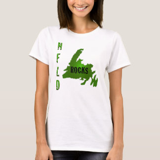 NFLD ROCKS Ladies Spaghetti Top (Fitted)