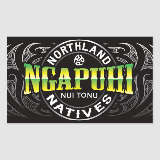 Ngapuhi Lifer Chrome Sticker