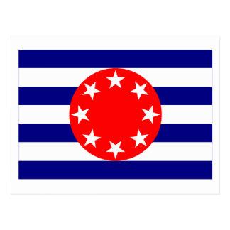 Ngarchelong Flag Postcard