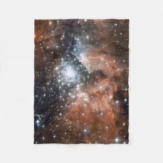 NGC3603 Nebula Small Fleece Blanket