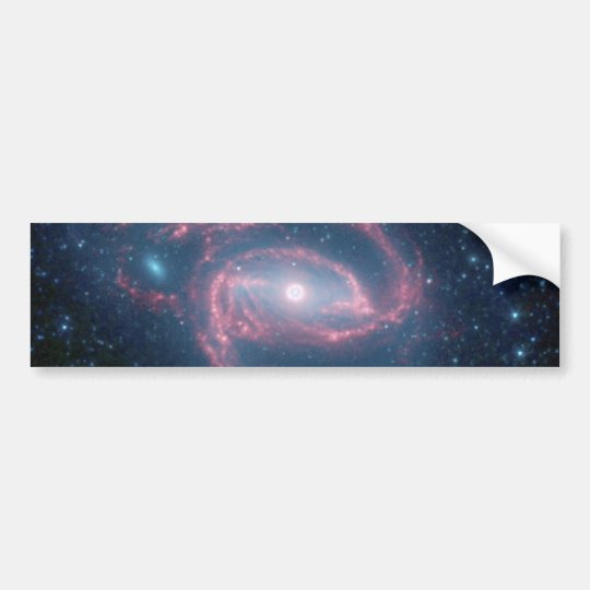 NGC 1097 Coiled Galaxy of the Night Bumper Sticker