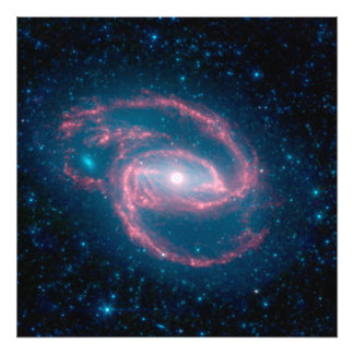NGC 1097 Coiled Galaxy of the Night Photo Print