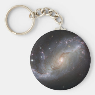 NGC 1672 Barred Spiral Galaxy Key Chains
