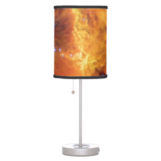 NGC 2467 Nebula - Hubble Space Telescope Photo Table Lamp