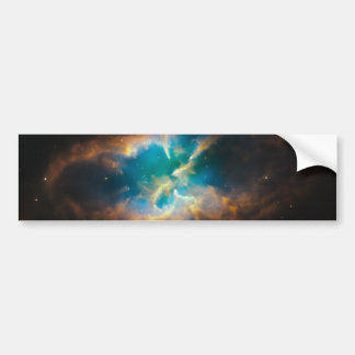 NGC 2818 Planetary nebula glowing Bumper Sticker