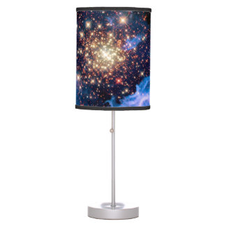 NGC 3603 Star Cluster - NASA Hubble Space Photo Table Lamp