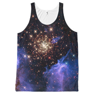 NGC 3603 super star cluster NASA All-Over-Print Tank Top