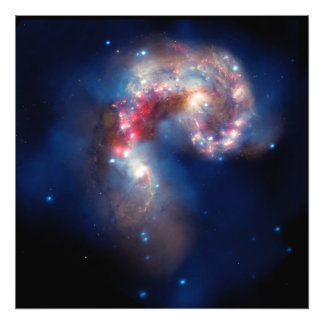 NGC 4038 Antennae Galaxies NASA Photo Print