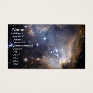 NGC 602 bright stars NASA Business Card