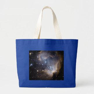 NGC 602 bright stars NASA Large Tote Bag