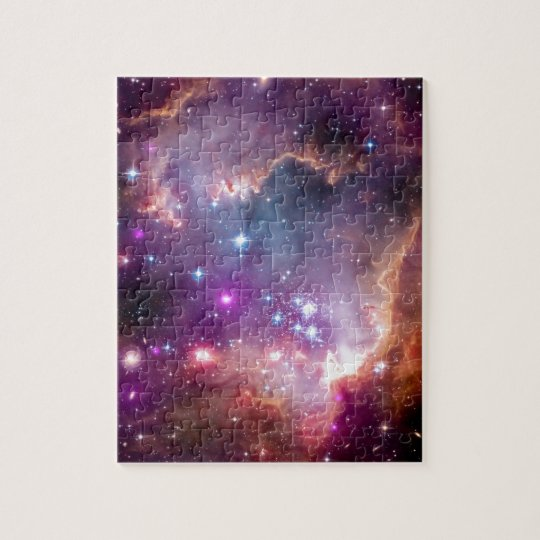 NGC 602 Star Formation - NASA Hubble Space Photo Jigsaw Puzzle