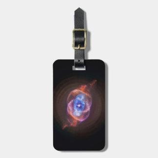 NGC 6543: The Cat's Eye Nebula Luggage Tag