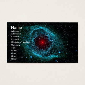 NGC 7293 The Helix Nebula NASA Business Card