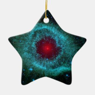NGC 7293 The Helix Nebula NASA Ceramic Ornament