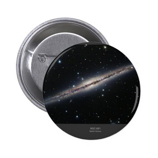 NGC-891 spiral galaxy Buttons