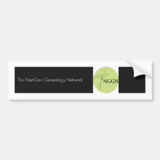 NGGN Black Bumper Sticker