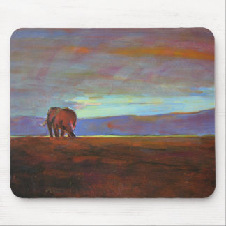 'Ngorongoro Sunset' Mouse Pad
