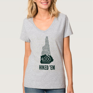 NH 4000 Footers Hiked Women's V-Neck T-Shirt