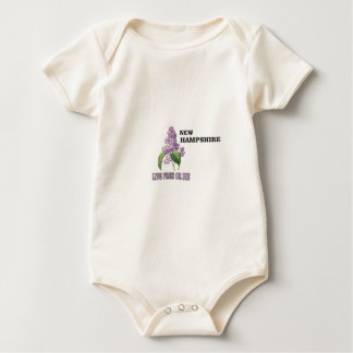 NH live free or die Baby Bodysuit