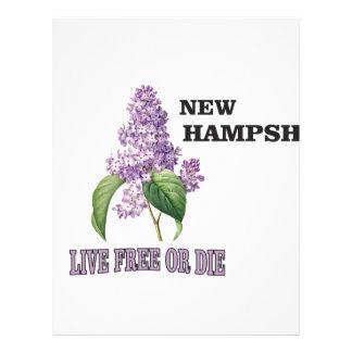 NH live free or die Letterhead