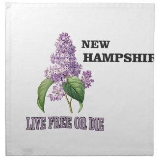 NH live free or die Napkin