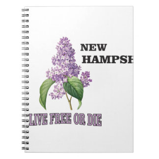 NH live free or die Notebooks