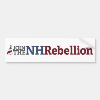 NH Rebellion Bumper Sticker