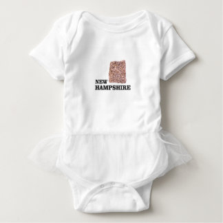 NH rock Baby Bodysuit