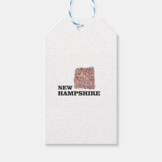 NH rock Gift Tags