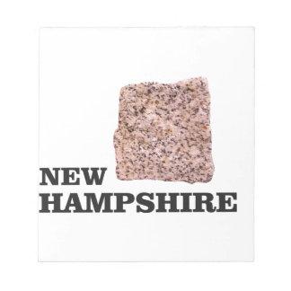 NH rock Notepad