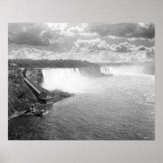 Niagara Falls, 1905. Vintage Photo Poster