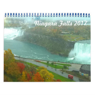 Niagara Falls 2017 Calendar