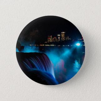 Niagara Falls at night 2 Inch Round Button