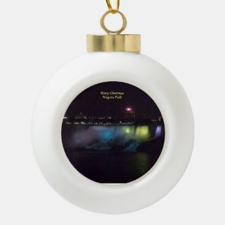 Niagara Falls Ball Ornament 1