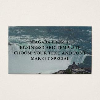 NIAGARA FALLS BUSINESS CARD TEMPLATE