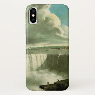 Niagara Falls From Table Rock by John Vanderlyn iPhone X Case