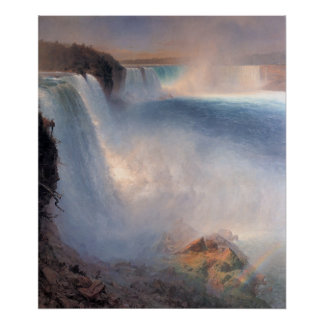 Niagara Falls, From The American Side Poster