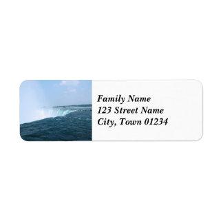 Niagara Falls Custom Return Address Label