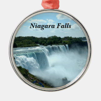 Niagara Falls Metal Ornament