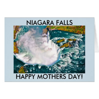 NIAGARA FALLS MOTHERS DAY CARD