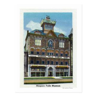 Niagara Falls Museum, View of a Water Nymph Postcard
