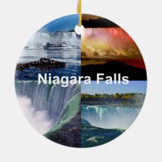 Niagara Falls New York Ceramic Ornament