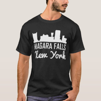 Niagara Falls New York Skyline T-Shirt