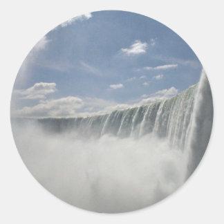 Niagara Falls, New York, USA Round Sticker